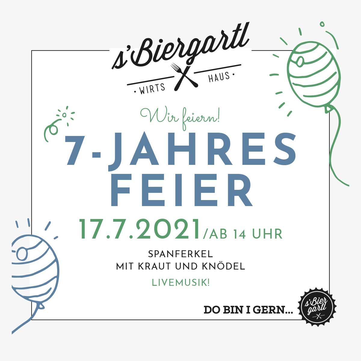 7-Jahresfeier s'Biergartl in Graz