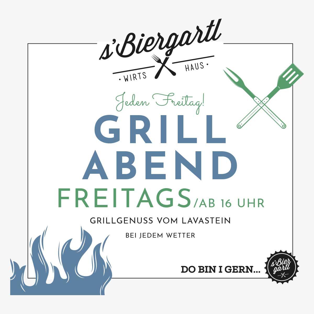 Grillabend- sBiergartl Graz 2021