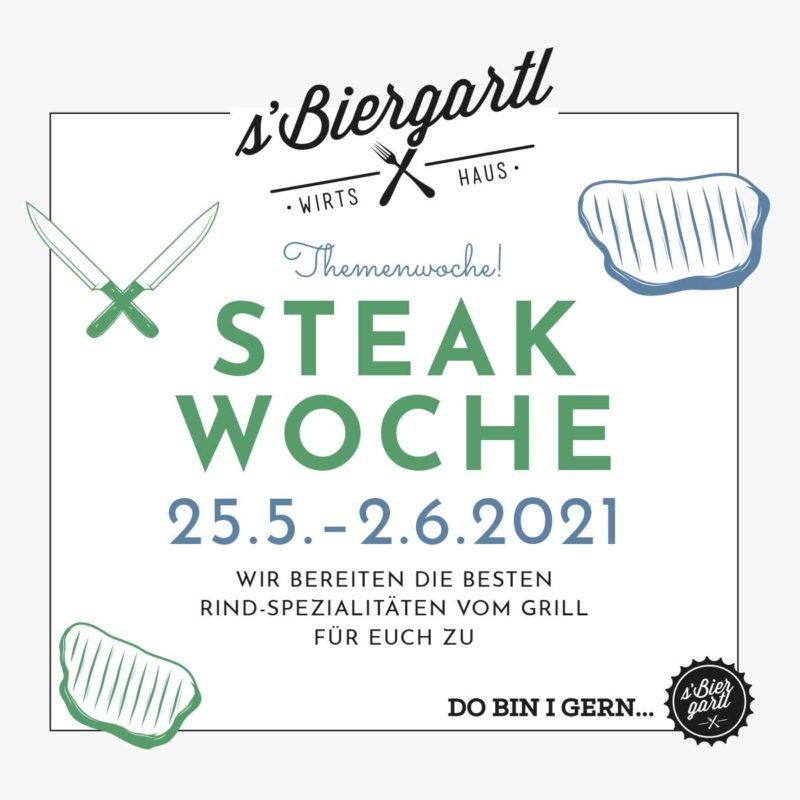 Steakwoche – sBiergartl Graz